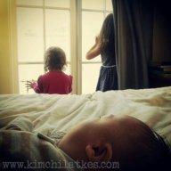Watching my sisters...