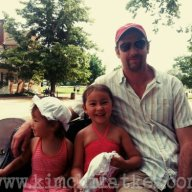 Daddy and his girls.